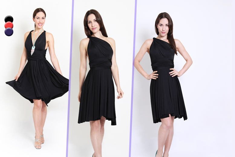 £19.99 instead of up to £99 (from Kiana Fashions) for a versatile midi or maxi dress in a choice of 3 colours and three sizes - save up to 80%