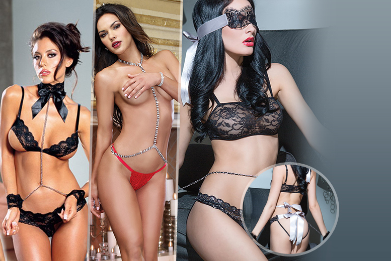 From £4.99 (from Risqué Intentions) for a choice of 3-piece lingerie set - save up to 83%