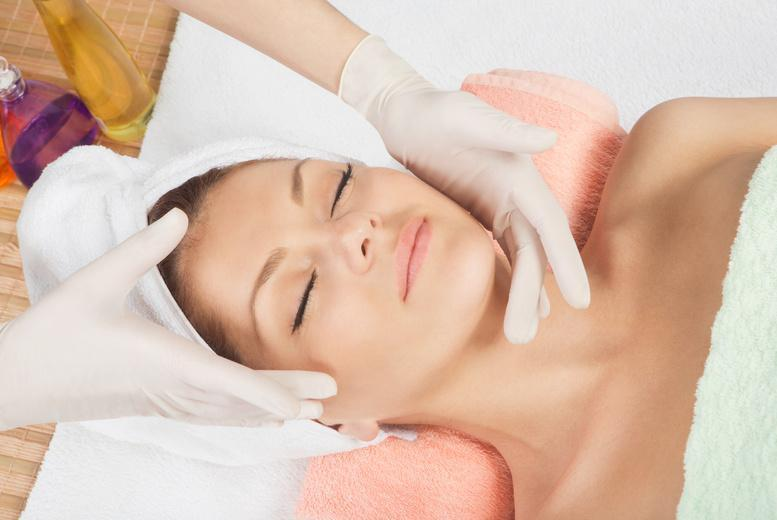 £19 for an up to 2-hour pamper package inc. back, neck and shoulder massage & 1hr Dermalogica facial at For Him & Her Beauty Clinic - save up to 79%