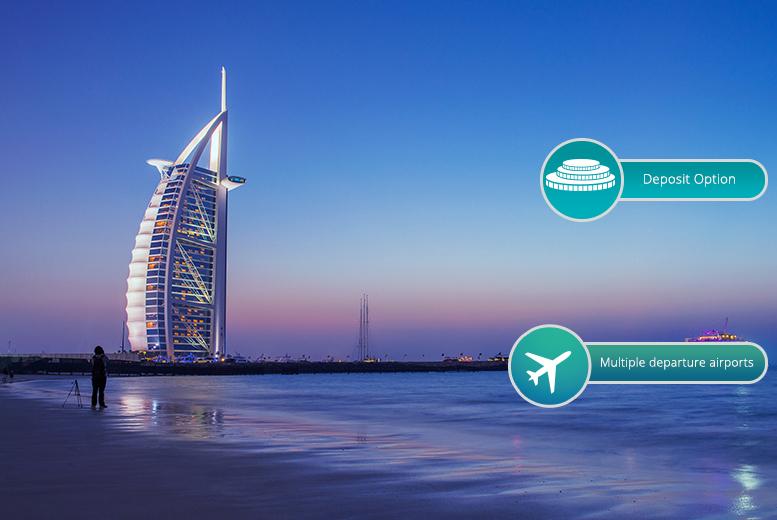 3, 5 or 7nt 4* Dubai, Flights and Spa Access