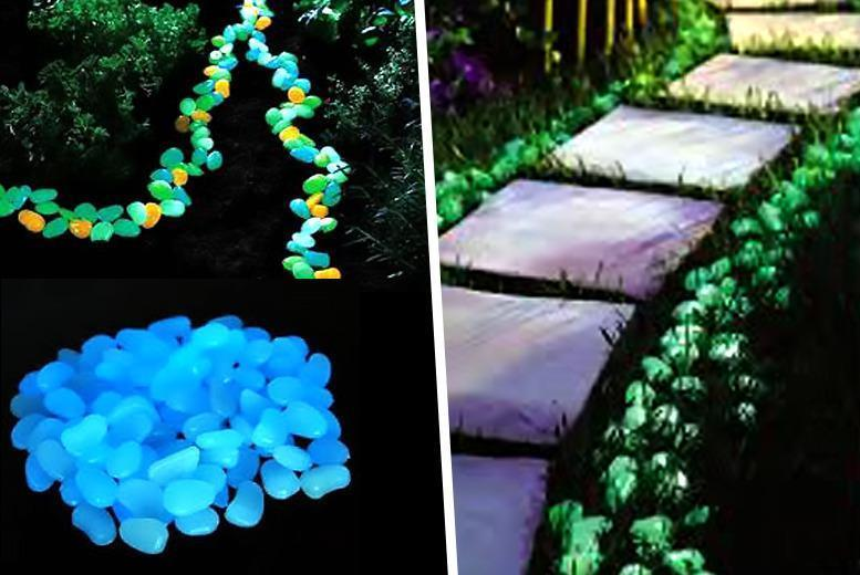 £9.99 (from Planet of Accessories) for 100 glow-in-the-dark pebbles, £17.99 for 200 or £19.99 for 300 - save up to 67% + DELIVERY INCLUDED!