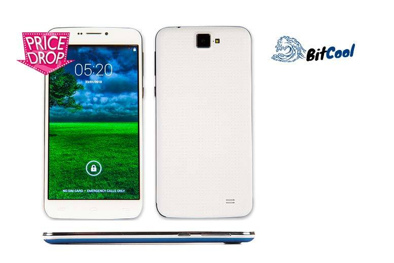 """£59 instead of £199.99 (from BitCool) for a 6"""" Android smartphone, 16GB - save 70%"""