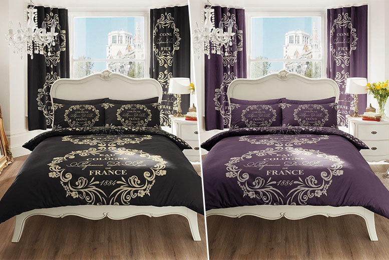 The Best Deal Guide - £9.99 instead of £29.99 (from Groundlevel) for a single vintage Paris print duvet set, £12.99 for a double, £14.99 for a king, £17.99 for a super king - save up to 67%