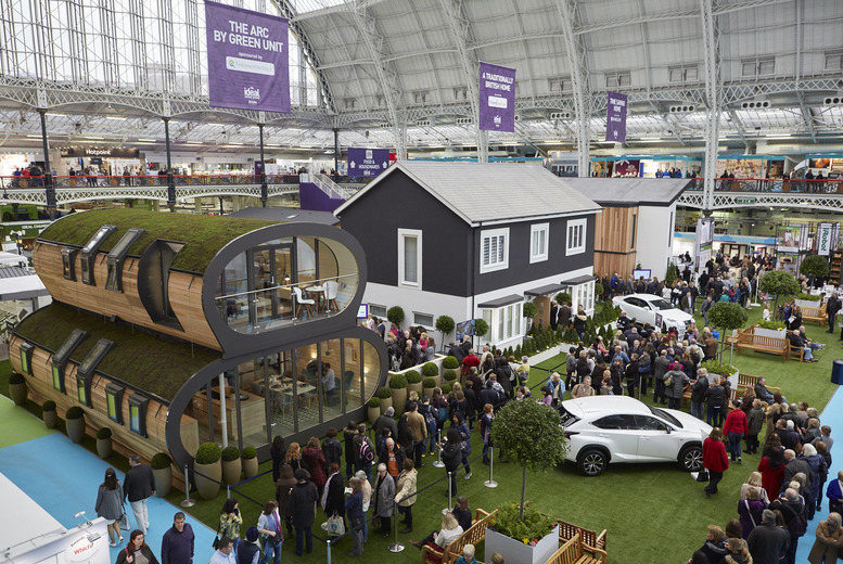 £15 for two weekday tickets to the Ideal Home Show plus an Ideal Home Magazine, £17 for two weekend tickets at Olympia London - save up to 52%