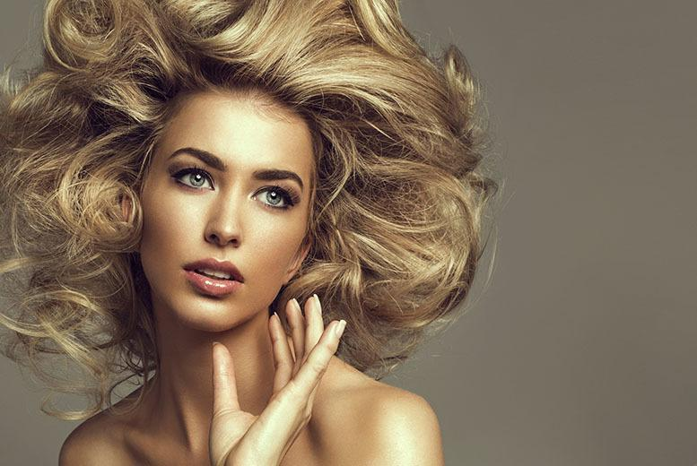 £19 for a half head of highlights or full head of colour with a cut and blow dry at Exquisite Opulence Hair & Spa, Leicester - save up to 58%