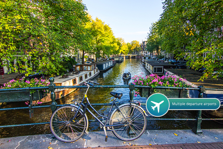 From £99pp (from Crystal Travel) for a two-night Amsterdam break including flights and Icebar entry, from £159pp for three nights - save up to 27%