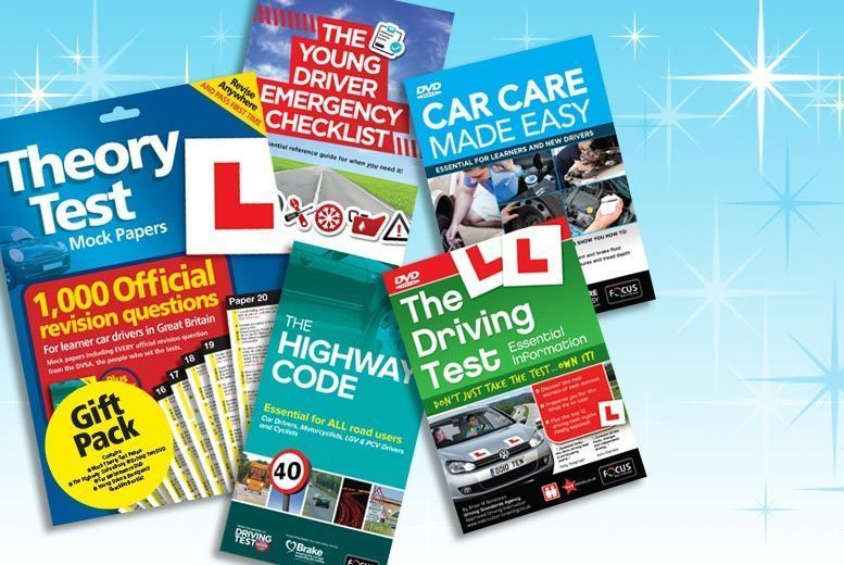 £11.99 instead of £48 (from eoutlet) for a driving test bumper pack - save 75%