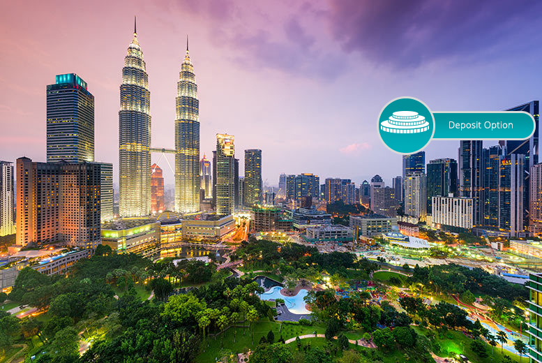 From £649pp for a 10-night Malaysia trip with a stay in Kuala Lumpur followed by Penang or Langkawi with flights, pay a £400 deposit today - save up to 33%