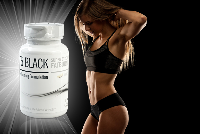£17 instead of £102 (from Ultra Supplements) for a 3-month* supply of black T5 super strength 'fat burner' - save 83% + DELIVERY INCLUDED!
