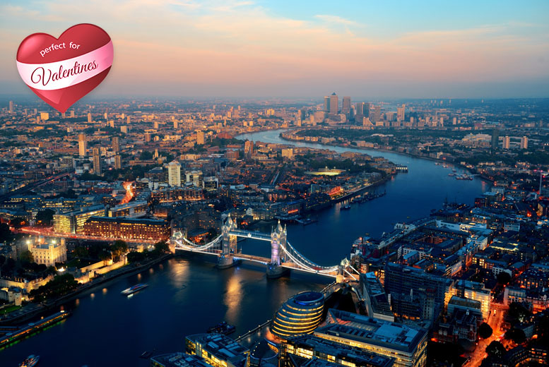 £79pp instead of £115 for a Valentine's evening at Millbank Tower inc. cocktail, 3-course meal & cinema, £105pp for a VIP ticket – save 31%