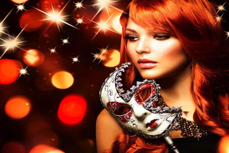 £8 instead of £20 for a Valentine's Masquerade Lock and Key singles party inc. cocktail @ Roof Gardens, Kensington with Date in a Dash - save 60%