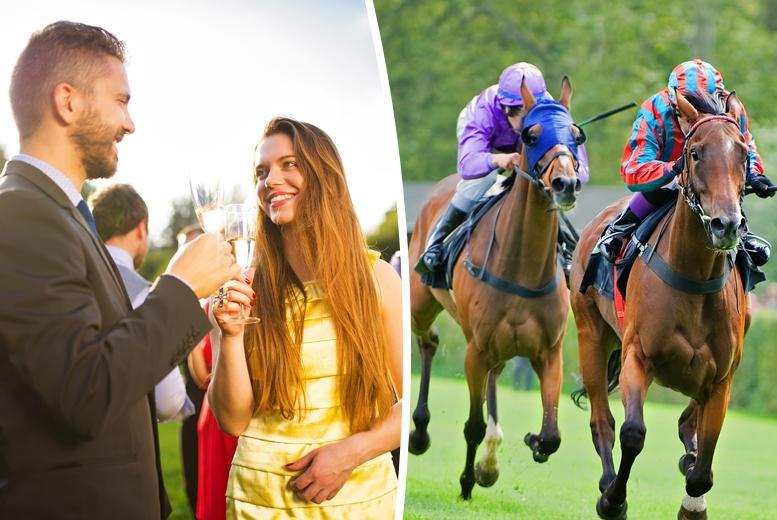 £35 for a day at the races for 2 inc. behind the scenes tour & glass of wine each from Activity Superstore, 15 UK locations – save 50%