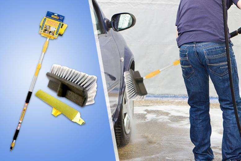 £12 instead of £35 for a telescopic water-fed brush with squeegee from Wowcher Direct - save 66%