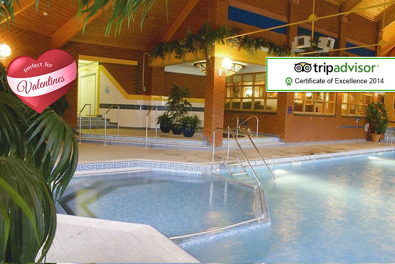 £49 (BEST WESTERN Forest Hills Hotel) for a 1nt stay for 2 with spa access, £85 to include dinner, £109 for Valentine's special  - save up to 41%