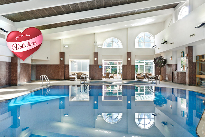 From £199 (at The Belfry, Warwickshire) for a 1-night Valentine's stay for 2 people inc. a 4-course dinner, bottle of Prosecco and spa access!