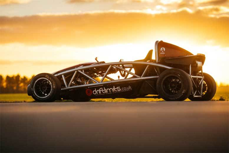 £69 instead of £139 for a 14-lap supercharged Ariel Atom driving experience with Drift Limits, Hemel Hempstead - save 50%