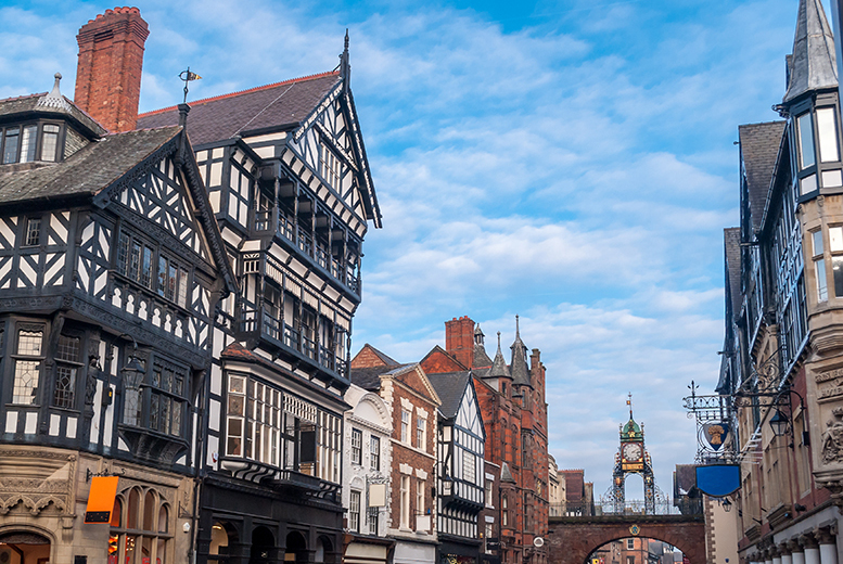 £99 (at Mercure Chester North Woodhey House Hotel) for an overnight Chester stay for two with breakfast, dinner and early check in, £149 for two nights - save up to 32%