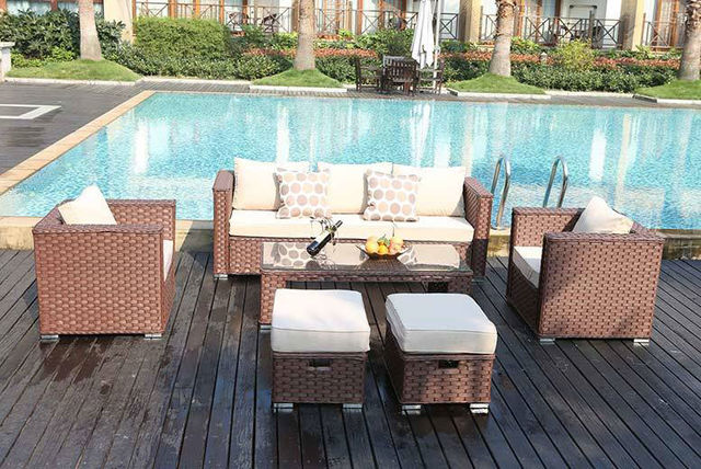 Garden Furniture Colours rattan garden furniture set - 3 colours!