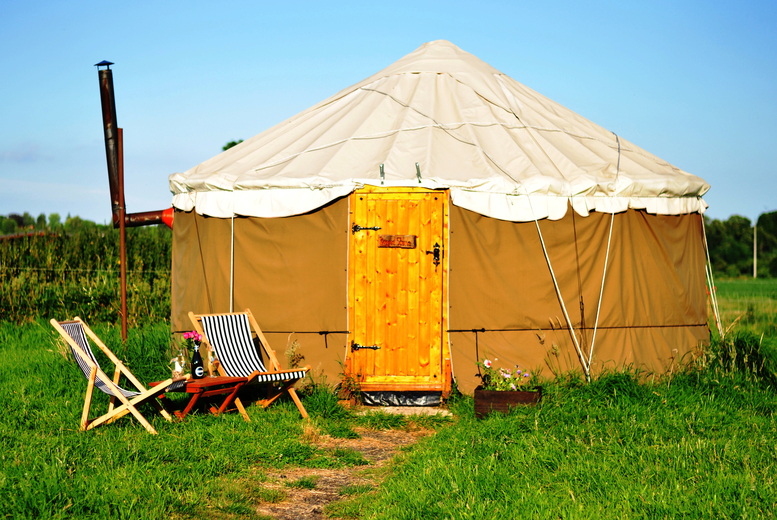 £59 for a two-night luxury glamping experience for up to four people, £79 for three nights, £99 for four nights at Worcester Glamping - save up to 61%