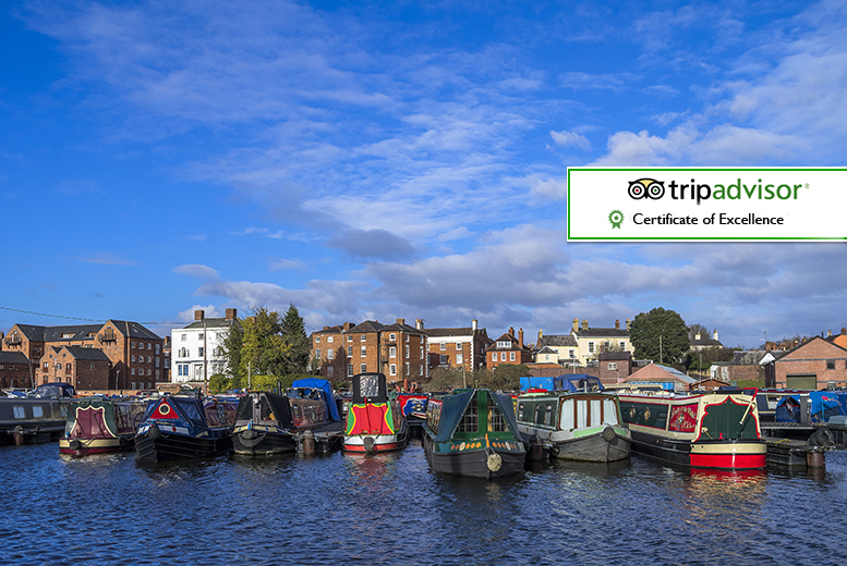 £99 for an overnight Worcestershire break for two with breakfast, three-course dinner, leisure access and late check out - save up to 40%