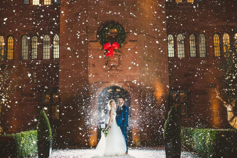 Image of From £2995 for a wedding package for up to 60 guests inc. 3-course breakfast, evening buffet, honeymoon suite and more at 4* Abbey House Hotel, Cumbria - save up to 35%