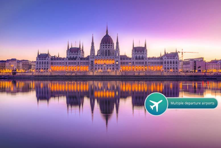 From £69pp for two-night Hungary stay with flights, from £99pp with Széchenyi thermal baths entry, from £99pp for three nights, from £119pp with baths - save up to 41%