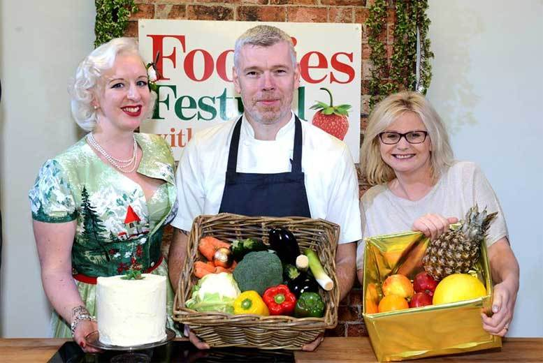 Foodies Festival Tkt for 1, 2 or 4 @ Syon Park - 3 Dates!