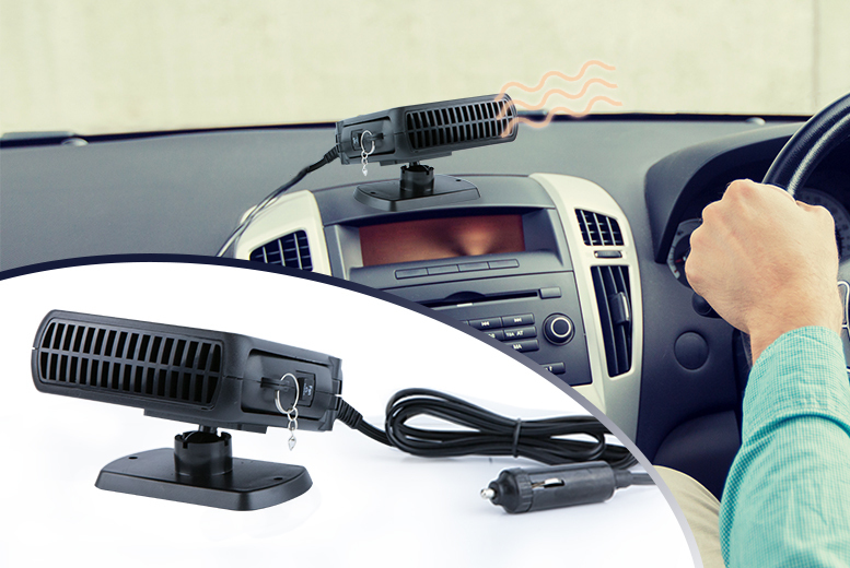 £9.99 instead of £65 (from Vivo Mounts) for a portable car heater/defroster - save 85%