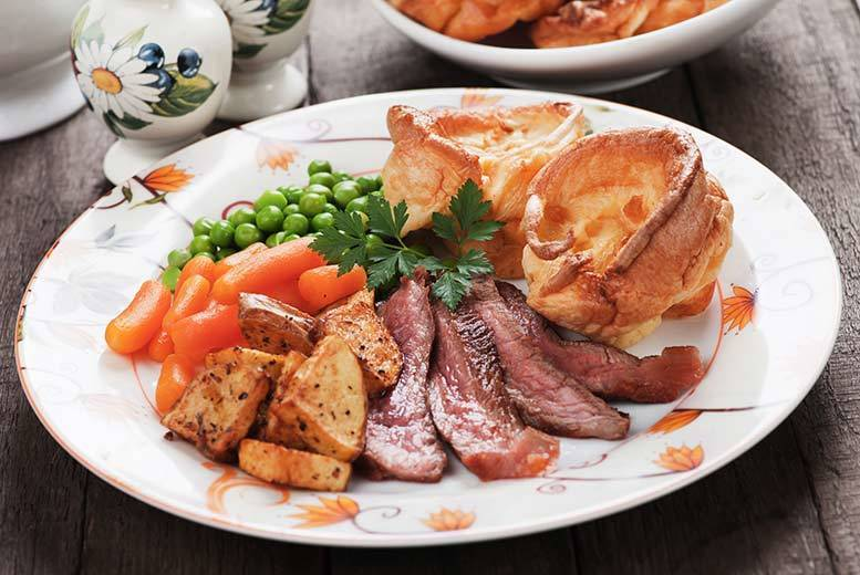 2-Course Sunday Lunch and Wine for 2