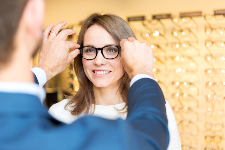 £39 instead of £140 for a comprehensive eye test and £100 voucher towards a pair of designer glasses at Lapworth Opticians, Giffnock - save up to 72%