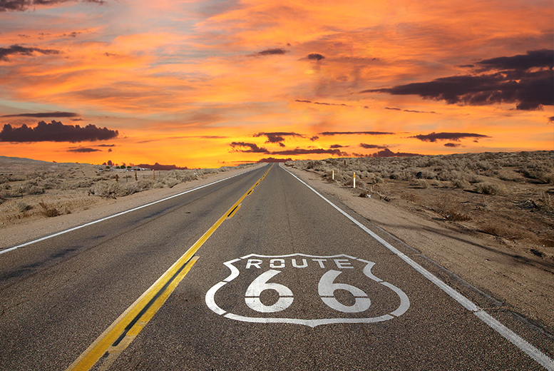 From £1499pp (from World Choice Sports) for a 14-night Route 66 road trip including return flights, accommodation and car hire, or pay a £300 deposit today!