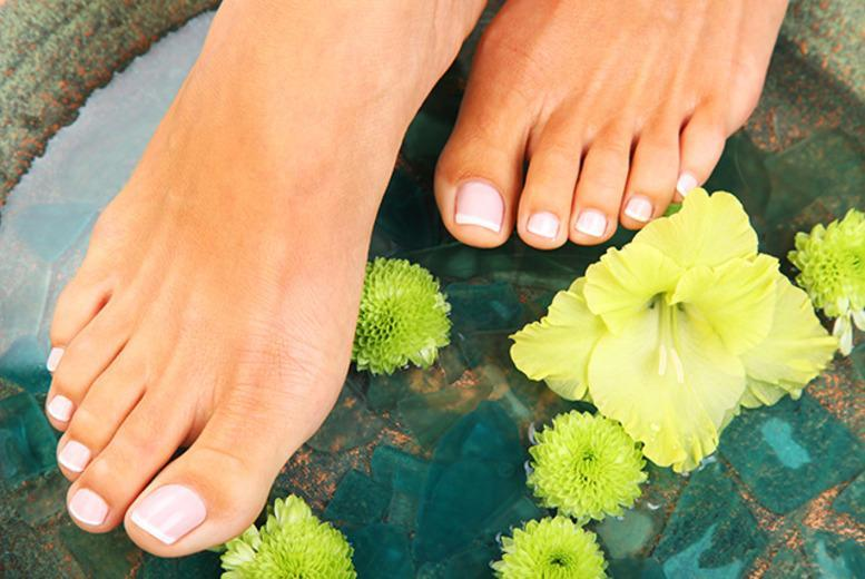 £19 for a relaxing up to 90-minute deluxe spa pedicure & foot massage at Divine Brazilian Hair and Beauty, Queen's Park