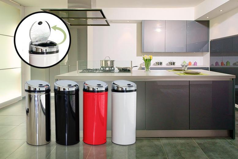 £24.99 instead of £89.99 (from Kitchen Gadgets) for a 30L automatic sensor bin, £34.99 for a 42L size, £39.99 for a 50L -  save up to 72%