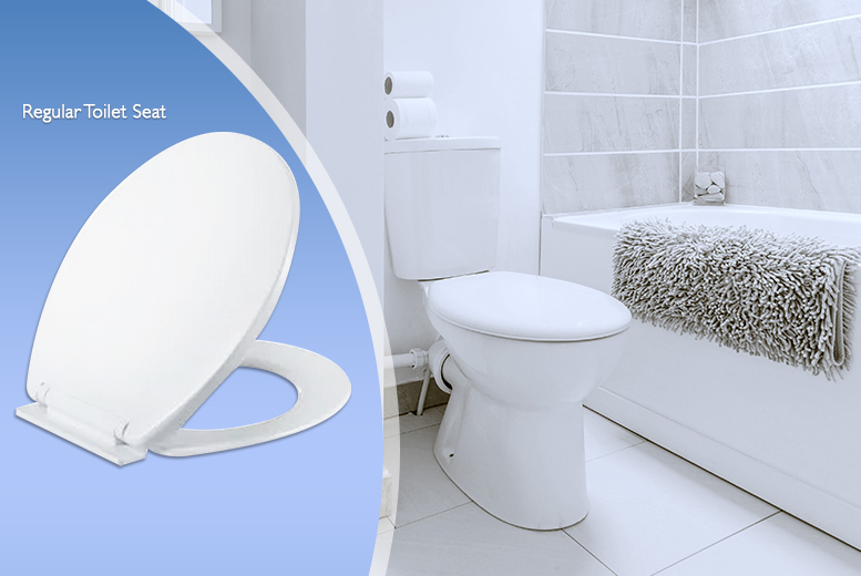£8.99 instead of £17 (from Zoozio) for a soft-closing toilet seat, £17.99 for a D-shaped or child-friendly seat - save up to 47%