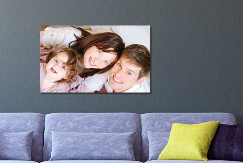 £12.99 instead of £53.99 (from Your Perfect Canvas) for an A1 personalised canvas print - save a picture-perfect 76%