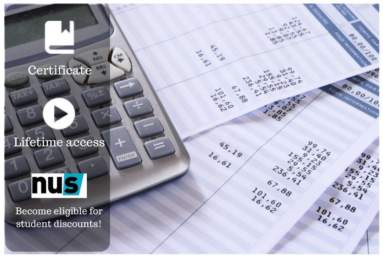 £9 instead of £49 for an online beginners' finance & accounting course from OfCourse - save 82%