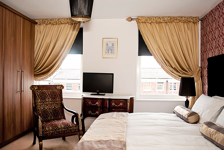£59 for an overnight Liverpool break for two with room service breakfast at Grade II listed Georgian Town House Hotel, or £109 for two nights - save up to 44%