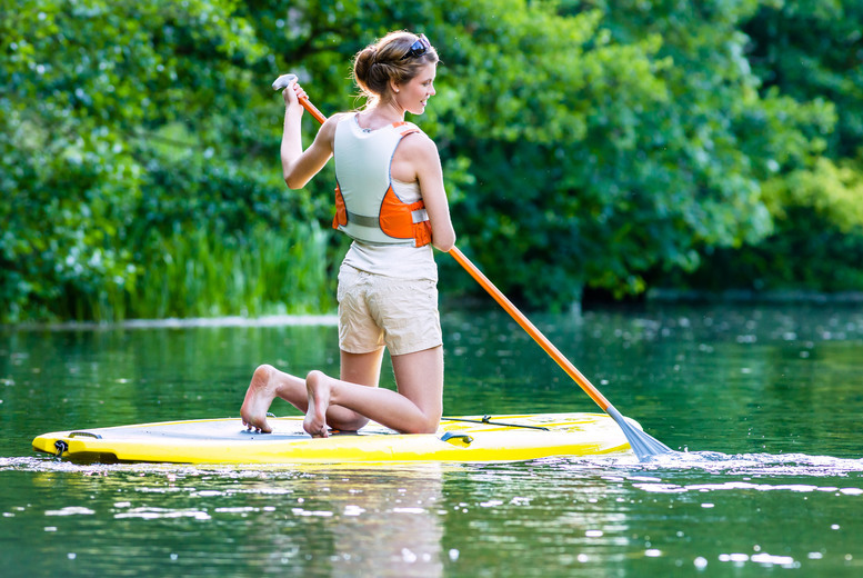 £9 for a one-hour kayaking or paddleboarding experience for one person, or £14 for kayaking for two people at Blackpool Wake Park, Weeton - save up to 55%
