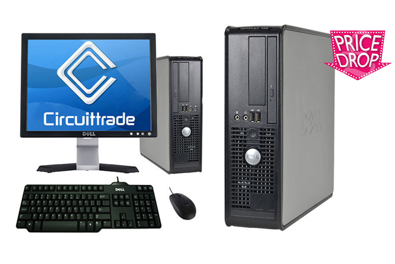 The Best Deal Guide - Windows 10 Dell PC with Flat Screen Monitor, Keyboard & Mouse - 2 Options!