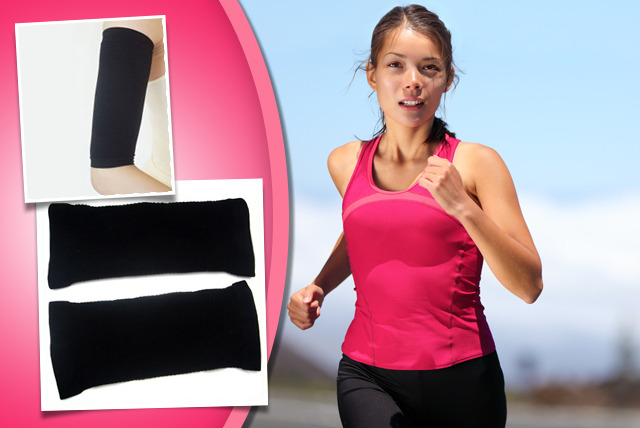 £6.99 instead of £18 (from Aneeks) for a pair of arm or thigh sculpting socks, or £12 for both - give your body a boost and save up to 61%