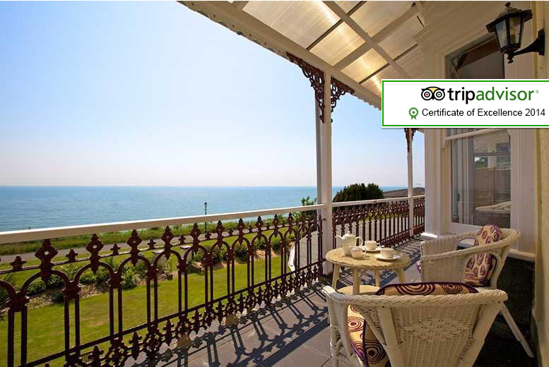 £89 instead of up to £212 (at The Clifton, Shanklin) for a 2nt break for 2 people inc. breakfast, £129 for 3nts - save up to 58%