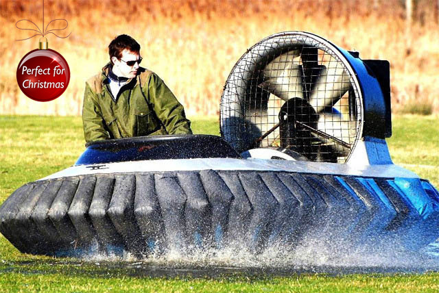 £29 instead of £39.50 for a 5 lap hovercraft experience or £34 for a 10 lap experience with Hovercraft Adventures, Sandwich - save up to 27%