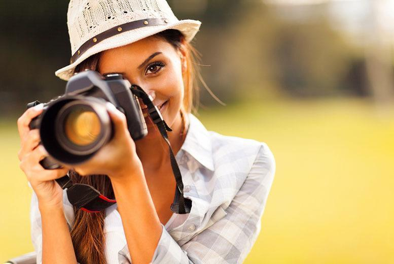£19 instead of £849 (from Shaw Academy) for a CPD-accredited online digital photography course - save 98%