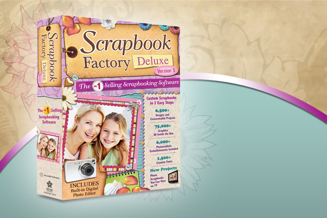£12 instead of £30.63 (from Avanquest Software) for 'Scrapbook Factory Deluxe 5' software - keep hold of your precious memories and save 61%