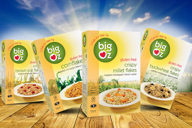£16.99 instead of £24.70 (from Big Oz) for a 10 box variety pack of gluten-free cereal - choose corn, buckwheat, millet or rice & save 31%