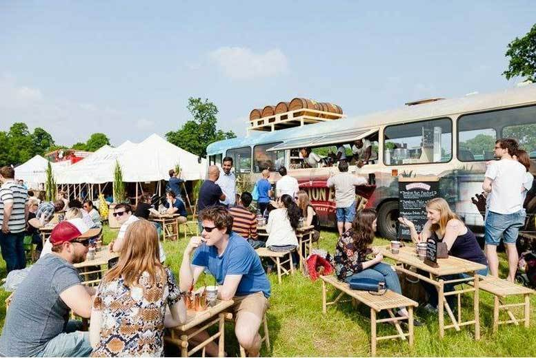 From £9.50 for one ticket and show guide, from £18 for two, from £33 for four or from £49 for two VIP tickets to Foodies Festival, Bristol - save up to 32%