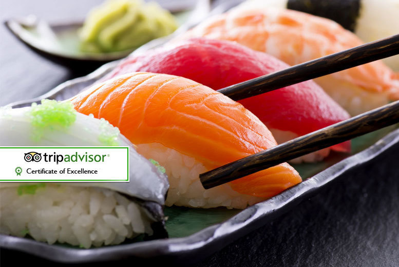 £15 for a £30 voucher to spend towards dining and drinks for two people at Sakushi, Sheffield - save a delicious 50%