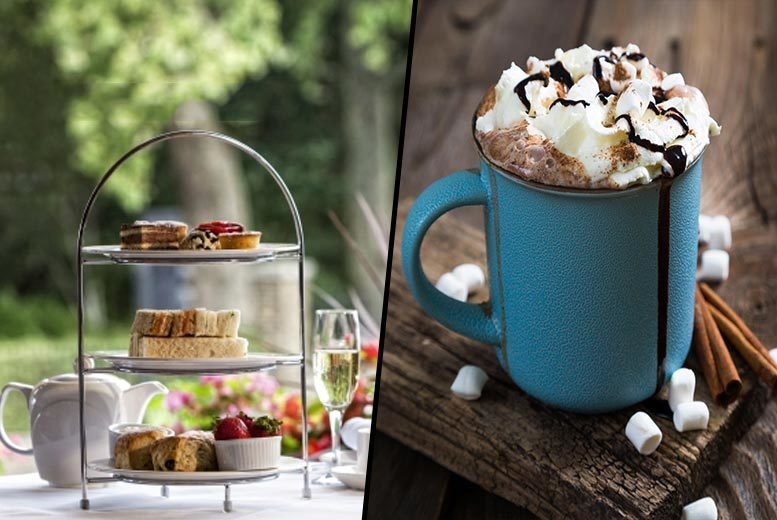 £19 for afternoon tea with hot chocolate, £24 with a glass of Prosecco or £29 with a glass of Champagne each at Danubius Hotel, Regent's Park - save up to 62%
