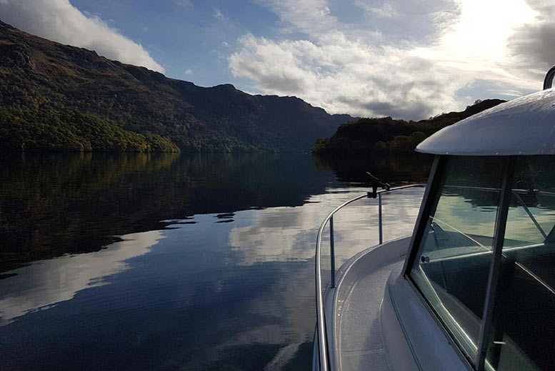 From £69 instead of £140 for a private loch cruise for two including a seafood platter to share and glass of prosecco each from Private Personal Chef - save up to 51%