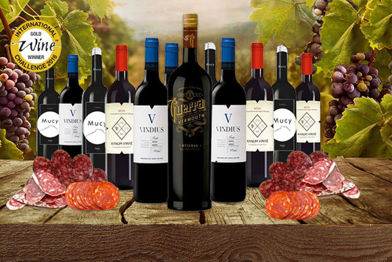 £39 instead of £114.39 (from TwoQuarts) for award-winning Spanish vermouth, wine and charcuterie - choose from three different selections and save 66%